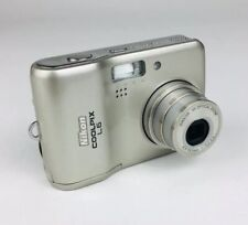 Nikon COOLPIX L6 6.0MP Digital Camera, Silver, Tested & Functionally Working