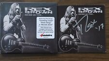 """REX BROWN PANTERA SIGNED """"SMOKE ON THIS..."""" AUTOGRAPHED BOOKLET & NEW SEALED CD"""