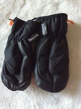 New listing H&M Kids Black Thinsulate Snow/Ski Gloves Water Resistant Windproof Sz 3-4 yr