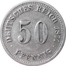 J  7   50 Pfennig  1877 F in SS   575007
