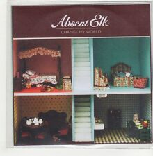 (GO731) Absent Elk, Change My World - 2009 DJ CD