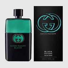 GUCCI GUILTY BLACK 90ML EDT EAU DE TOILETTE SPRAY FOR MEN POUR HOMME BNIB SEALED