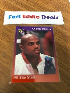 1994 NBA BASKETBALL STAR94 CHARLES BARKLEY ALL STAR STATS CARD 50 PHILADELPHIA