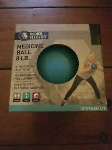 8 Pound lb Strength Training Rubber Medicine Ball Fitness Exercise. New. Sealed