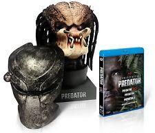 The Movie Predator Head Statue Mask 4 Blu-Ray Set 1500 Limited Edition Used