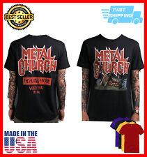 Vintage 1991 Metal Church The Human Factor Tour shirt Vintage Unisex Black S-5Xl