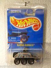 HTF 1991 HOT WHEELS RADAR RANGER #63 - MF SILVER / RAZOR  / METAL MALAYSIA BASE