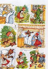 1 Bogen Glanzbilder Märchen Glimmer ef 7020 Nr.380