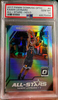 2017 Donruss Optic Silver Prizm Holo Kawhi Leonard Clippers PSA 10 Gem Mint