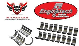 Ford 281 4.6l Mustang F150 Sohc Dohc Enginetech Rod And Main Bearings 93 - 14