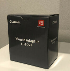 *BRAND NEW* Canon EF-EOS R Lens Mount Adapter - For R5, R6, RP, R (EF To RF)