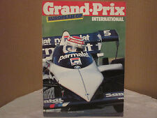 GRAND . PRIX INTERNATIONAL No 71 29 SEPTEMBER 1983 EUROPEAN GP