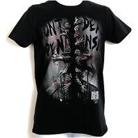 The Walking Dead Mens T Shirt Black Cotton Crew Neck Short Sleeve Size S