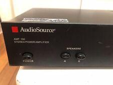 Audio source power amplifier