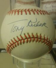 Tony Kubek signed baseball psa