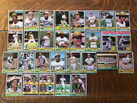 1976 PITTSBURGH PIRATES Topps COMPLETE MLB Team Set 29 Cards STARGELL PARKER !