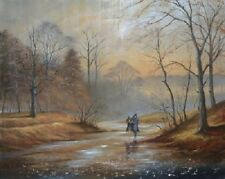 JEFF ROWLAND ' WARM & GLOWING ' LTD. EDT.GICLEE ON BOARD