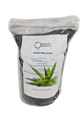Blood Meal Fertilizer 13% Nitrogen Highest Nitrogen Organic Fertilizer 5 Pounds