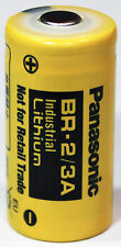 2PC Panasonic BR-2/3A BR-2/3ASSP 3V Lithium Battery -  Non-Rechargeable