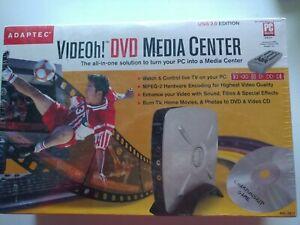 Adaptec VIDEOH DVD Media Center 2310 USB Kit 2042900 Brand New! Sealed