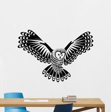 Owl Wall Decal Forest Bird Nursery Vinyl Sticker Nature Art Bedroom Decor 139nnn