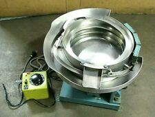 Jerhen Industries 12 Ss Stainless Vibratory Bowl Feeder With Controller So 3278