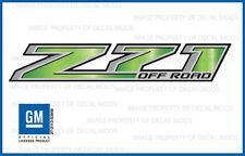 2: Z71 Off Road Chevy Silverado 14-18 Decals Stickers Fade Green Pepper GRGRNPPR