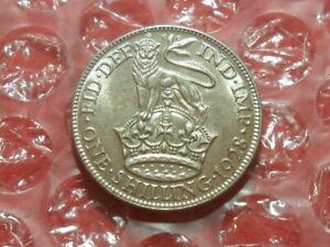 1928 George V shilling.