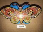 Grateful Dead Emek Butterfly Pin Rose Skulls Jerry Garcia