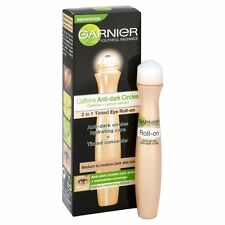 Garnier 2-in-1 Tinted Eye Roll-on Medium to Dark Skin Anti Dark Circles - 15ml