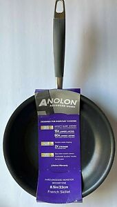 """ANOLON MOONSTONE NONSTICK 8.5"""" FRENCH SKILLET FRY PAN  / NEW"""