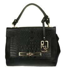 Shoulder Bag Faux Leather Snakeskin Design Handle Office