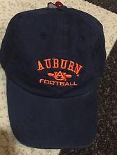 db3ff8be7f5 NWT New Auburn Tigers Football Adjustable Strap Cap Hat War Eagle Zephyr  Blue