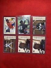 Lot of (6)  MICHAEL JORDAN BASEBALL CARDS!!!