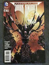 Legends Of The Dark Knight #4 - DC Comics - Batman - March 2013 - Comic Book