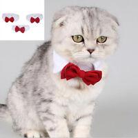 New Adorable Dog Cat Pet Puppy Kitten Toy Bow Tie Necktie Collar Clothes Hot