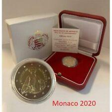 Monaco 2 Euro 2020 PP *300 Geburtstag Fürst Honore III *  ab lager 28 oktober