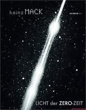 Fachbuch Heinz Mack, Licht der ZERO-Zeit, tolles Buch mit vielen Bildern, NEU
