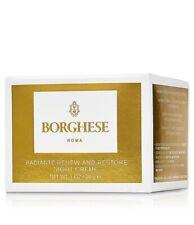Borghese Radiante Renew and Restore Night Cream 1oz, New in Box