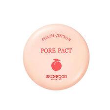 SKINFOOD Peach Cotton Pore Pact 9g 2017 NEW Sebum Control - dodoshop