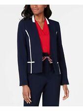 TOMMY HILFIGER $129 Womens New 0047 Navy Blazer Wear To...