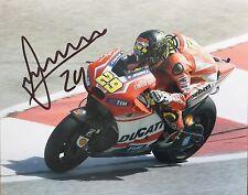 Andrea Iannone signed Moto GP 10x8 photo Image B UACC Registered Dealer