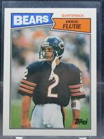 1987 Topps #45 DOUG FLUTIE Rookie RC (BEARS)