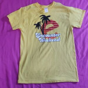 Small Petite Kids Encounter Weekend T Shirt