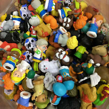 Random Lot 25pcs Fisher Price LITTLE PEOPLE Figures & Animals Friendship Toys