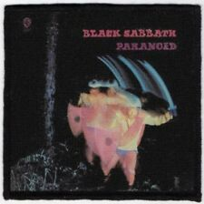 Black Sabbath Paranoid Printed Patch B035P Electric Wizard Sleep