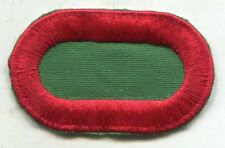 US Army 10th Special Forces Airborne SFGA parachute oval patch type 2-A Cut Edge