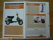 LM96- IN DE KEUKEN PIAGGIO VAN INFO MOTORCYCLE,MOTORRAD,MOTORFIETS