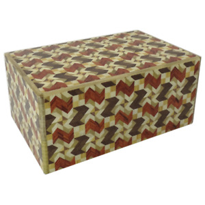 5 Sun 27 Step Yabane design Japanese Puzzle Box