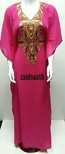 Dubaï Kaftan Farasha Jalabiya Robe Maxi Abaya- Taille Unique Convient à Tous.